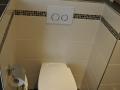 WC abgetrennt